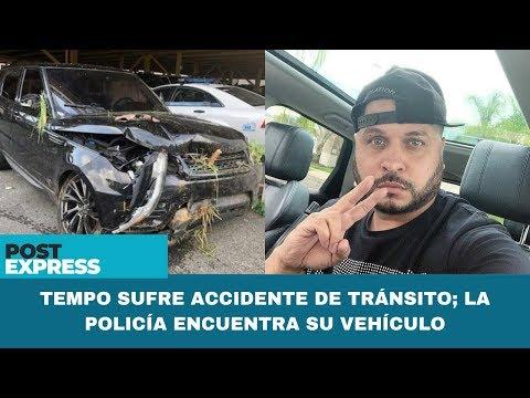 0 61 - Tempo sufre accidente de tránsito; la policía encuentra su vehículo
