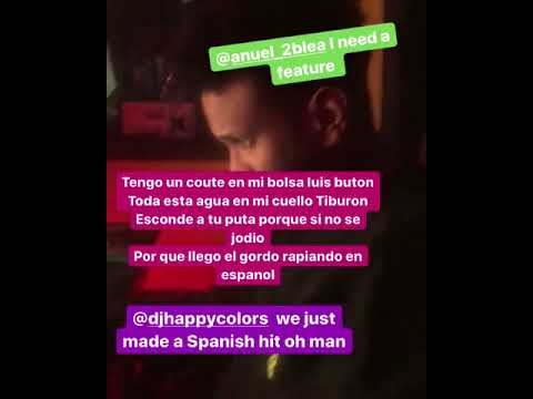 0 21 - Anuel AA Ft. Fat Nick – ¿? (Preview)