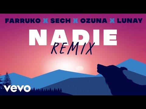 0 22 - Farruko Ft. Ozuna, Lunay & Sech – Nadie (Remix) (Video Lyric)