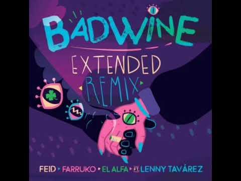 0 42 - Feid Ft. Lenny Tavarez, Farruko y El Alfa – Badwine (Official Extended Remix)
