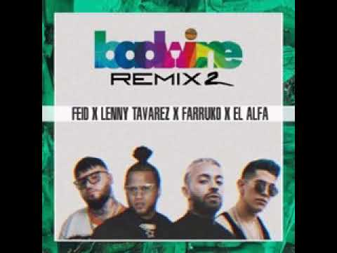 0 7 - Feid Ft. Lenny Tavárez, Farruko y El Alfa El Jefe – Badwine (Remix 2) (Preview)
