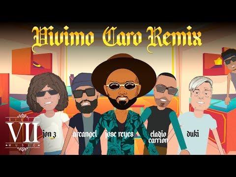 0 - José Reyes Ft. Arcangel, Jon Z, Eladio Carrión y Duki – Vivimo Caro (Remix) (Video Lyric)