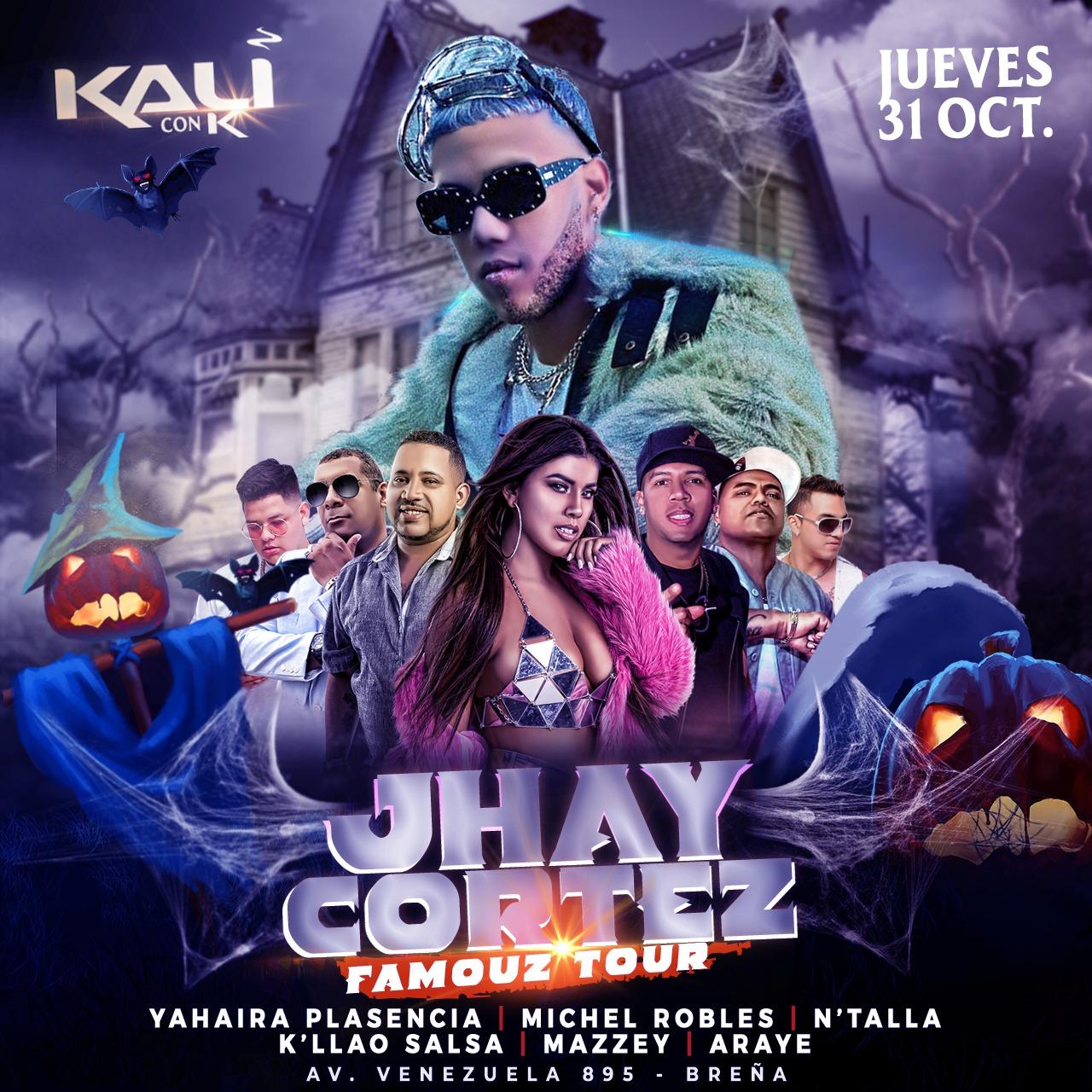 Jhay Cortez Kali Disco.jpeg - Jhay Cortez Llegara a Perú para el Famouz Tour