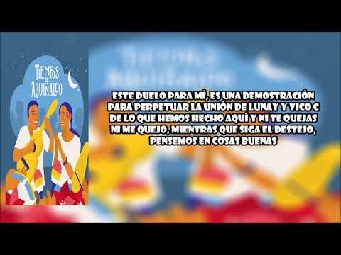 0 46 - VICO C, LUNAY - TE IRÁS CON EL AÑO VIEJO - LETRA