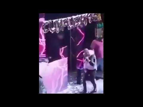 """0 7 - Tiran Balazos En Pleno Show De """"Baby Rasta y Gringo"""" En Chile"""