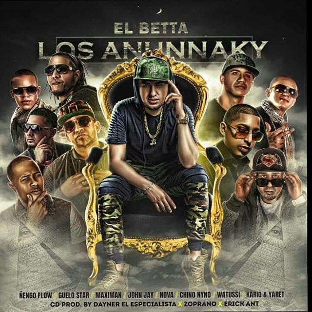 """84637781 3026062484094022 6615564343901837199 n - El Betta Presenta """"Los Anunnaky"""" (Album)"""