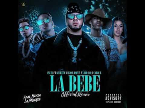 0 4 - Anuel AA Ft. Secreto, Black Jonas, Liro Shaq y Cardi B - La Bebe (Remix) (Preview Cardi B)