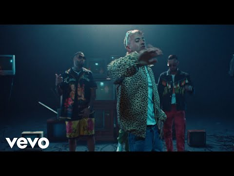 0 1 - Feid Ft. Justin Quiles, J Balvin, Nicky Jam, Maluma y Sech – Porfa (Remix) [Official Video]