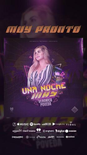"""122148876 682383622400588 4032702197212909682 n - Verónica Poveda Presentará Una Noche Más """"Muy Pronto"""
