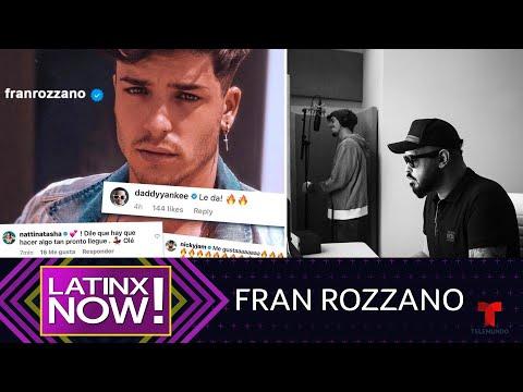 0 3 - Daddy Yankee y Pina Records presentan a su prodigio, Fran Rozzano | Latinx Now! | Entretenimiento