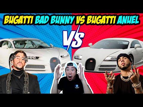 0 16 - La diferencia entre el Bugatti de Anuel y Bad Bunny