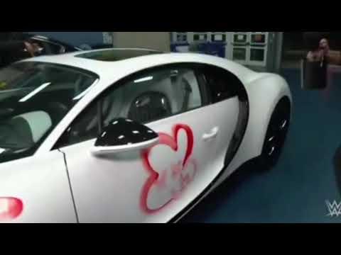 0 7 - Vandalizan Bugatti de Bad Bunny y luego lo golpean en WWE